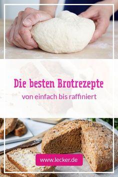 Was gibt es Schöneres, als den Duft von frisch gebackenem Brot? Deshalb haben wir allerlei köstliche Brotrezepte gesammelt und laden dich zum Stöbern und Nachbacken ein. Unsere Brotrezepte sind herrlich vielfältig und lassen keine Langeweile in der Backstube aufkommen. #brot #brotbacken #brotrezepte #brote #rezepte #brotteig #brotkneten #frühstück #abendbrot #stulle #stullenrezepte #grillen #grillbrote #einfachebrote #schnellebrote Sour Foods, Nutritious Meals, How To Stay Healthy, Vanilla Cake, Remedies, Health Fitness, Bread, Breakfast, Desserts