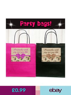 The Retouch Oasis Gift Bags #ebay #Home, Furniture & DIY