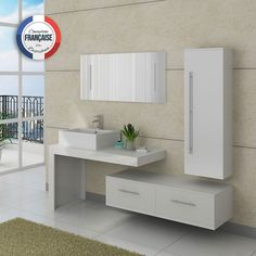 White bathroom furniture set 2 washbasins Source by fffpub Raw Furniture, White Bathroom Furniture, Grey Bathroom Tiles, Bamboo Bathroom, Bathroom Interior Design, Furniture Sets, Bedroom Cupboard Designs, Bedroom Cupboards, Bath Cabinets