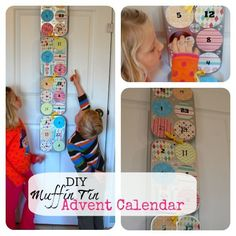 DIY Muffin Tin Adven