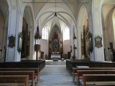 Vnitřek kostela - Zákupy - Česko