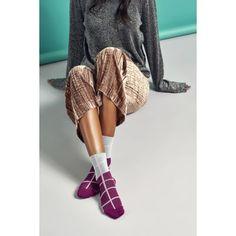 Dámske ružovo-šedé ponožky Happy Socks Karen    kolekcia Hysteria 4ddd8872d7