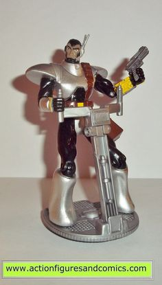 Toy Biz action figures for sale to buy X-MEN / X-FORCE series 1994 COMMCAST 100% COMPLETE Condition: Excellent. nice paint, nice joints. nothing broken, damaged, or missing Figure size: approx. 5 inch