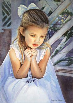 Watercolor Portraits by suzanna winton