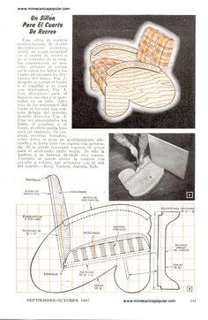 Mi Mecánica Popular - imagenes63/un sillon para el cuarto de recreo septiembre 1947-01g