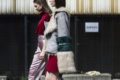 MSKPU fashion design graduate's collection featured on W Magazine!   Closing Out Fashion Week Poland With the Best of Lodz Street Style - Lodz Street Style-Wmag