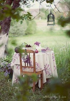 A quiet place for tea