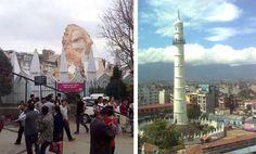 El terremoto destruye la emblemática Torre Bhimsen de Katmandú, conocida como Dharahara