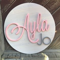 creatinghappyness shared a new photo on Etsy - Baby Pretty Names, Cute Baby Names, Unique Baby Names, Baby Girl Names, Boy Names, Cute Babies, Baby Name List, Baby Name Signs, Nursery Signs