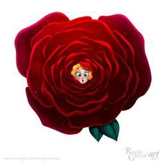 Rose,  2017 Rocío García (Rochi) ART https://rociogarciart.wordpress.com/