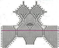 Схема купальника Motif Bikini Crochet, Bikinis Crochet, Crochet Bra, Crochet Shirt, Crochet Crop Top, Crochet Diagram, Crochet Clothes, Lingerie Crochet, Crochet Bathing Suits