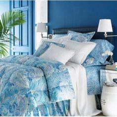 Ralph Lauren Jamaica Paisley Blue