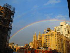 Double Rainbow in NYC