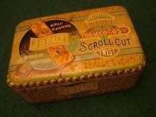 Superb Large 19th Century J.B.PACE Tobacco's Tin