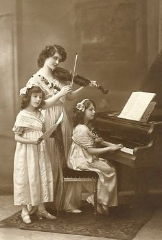 A Musical Family Moment. With Rebecca West in The Fountain Overflows.
