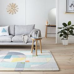 Buy Lindsey Lang Fabonacci Rug, Multi Online at johnlewis.com
