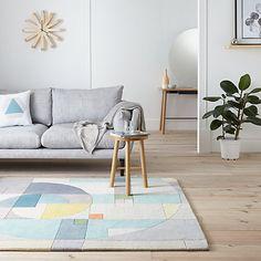 Buy Lindsey Lang Fibonacci Rug, Multi Online at johnlewis.com