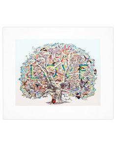 Love's Letters, 2012 by Francesca Lowe. Giclée print with glaze, oak frame, hand wax finish. 50-piece edition, $1570.00