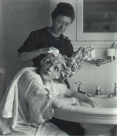 bathroom history - vintage photo - foto storiche di bagni