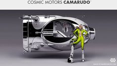 Cool 3d concepts blog showcase most interesting and unique 3d artist from around World. Machines of Cosmic Motors by Daniel Simon.