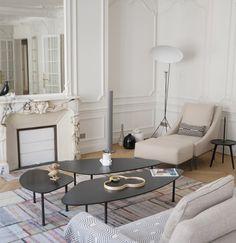 Haussmannien et contemporain, Architecte d'intérieur Paris, Réalisation Agence Véronique Cotrel