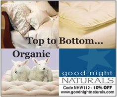 Love organic cotton
