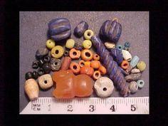 30-ancient-beads-circa-1000-BC-400-AD-Carnelian-lion-amulet