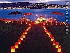 beach weddings idea