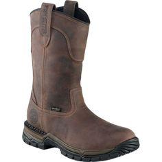 Irish Setter Men's Two Harbors Pull-On Waterproof Steel Toe Work Boots, Brown Pull On Work Boots, Steel Toe Work Boots, Fashion Boots, Fashion Edgy, Fashion Ideas, Fashion Trends, Stylish Mens Outfits, Irish Setter, Wellington Boot