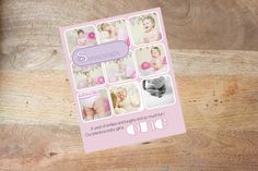 INSTAND DOWNLOADABLE Girls Pink Cake Smash Template for Photoshop by DigiStock on Etsy
