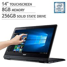 Acer R14 T...Keyboard Touchscreen PC Tablet Notebook Laptop Computer Convertible