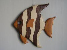 Intarsia #5 Exotic fish - Joël Souty - Google+