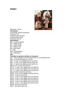 Image gallery – Page 245446248427647731 – Artofit Poney Crochet, Crochet Patterns, Knitting, Blog, Animals, Diy, Crochet Horse, Hobby Horse, Crochet Animal Amigurumi