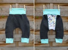 Jungshose aus alter Jeans / Boys' trousers made from old pair of jeans / Upcycling