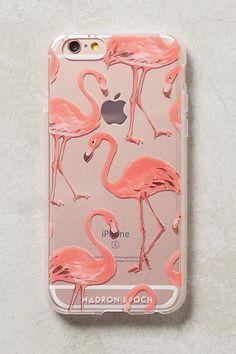 Pink Flamingos iPhone 6 Case. Cute iPhone case. Flamingo print. Technology. Tech accessories.