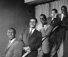 Art Blakey and the Jazz Messengers:  Art Blakey, Benny Golson, Bobby Timmons, Lee Morgan, and Jymie Merritt.