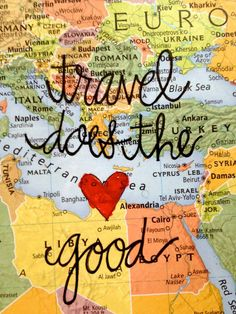 Travel does the heart good. #travel #love
