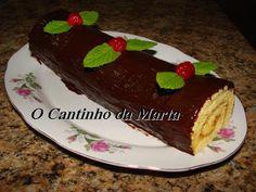 O Cantinho da Marta: Torta de Leite Condensado