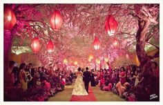 Elegant Wedding Decorations For Reception Rustic Red | visit www.lovelyweddingideas.com