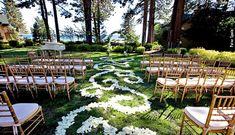Hyatt Lake Tahoe Weddings - Outdoor Ceremony