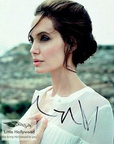 ANGELINA-JOLIE-From-The-Tourist-8x10-Autographed-RP-lustre-Photo