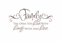 Family Vinyl Wall Decal  Live Laugh Love Wall by fivestarsigns, $39.00