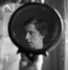 """Vivian Maier, whose 1950s street photography is finally receiving the credit it is due.   She was a Socialist, a Feminist, a movie critic, and a tell-it-like-it-is type of person....She wore a men's jacket, men's shoes and a large hat most of the time."" Gloria Brame"