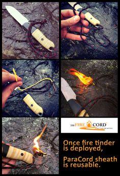 550 FireCord the Ultimate Emergency Fire Starter by Live Fire Gear LLC — Kickstarter