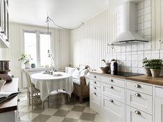 decoración de interiores en casa con cocina grande