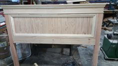 Built a king size headboard and bed frame (#QuickCrafter)