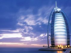 """Burj Al Arab is a well known luxuries hotel in Dubai. It is the fourth tallest hotel in the world. Burj Al Arab was constructed on an artificial island. It is also referred as """"the world's only hotel"""". Celebrate your Diwali in Dubai. Dubai Hotel, Dubai City, Dubai Uae, Visit Dubai, Burj Al Arab, Arab Wallpaper, Travel Wallpaper, Wallpaper Wallpapers, Scenic Wallpaper"""