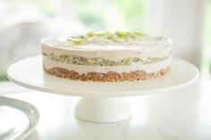 Raw Feijoa Kiwifruit Cake