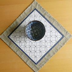 Sashiko Table Topper by sharnymcclarny on Etsy, $40.00