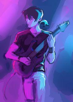 "jvvvk: "" voltron band au…keith on guitar, lance vocal and shiro on bass "" Voltron Klance, Shiro Voltron, Voltron Fanart, Percy Jackson, Anime Demon, Demon Art, Character Inspiration, Character Art, Stardew Valley Fanart"